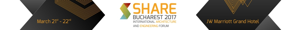 Banner SHARE Bucharest 2017